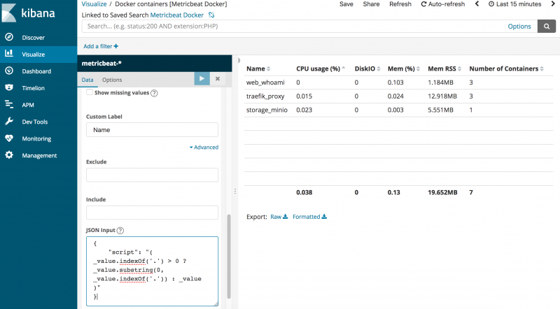 Kibana JSON Input Painless Scripting - Knowledge Center